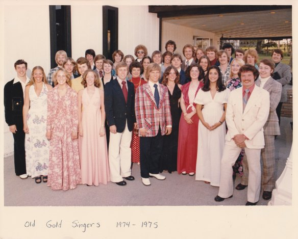 Old Gold Singers 1976-1977